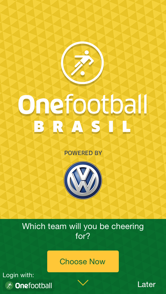 one football brazil app ios android
